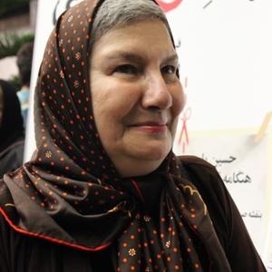 فریده سپاه منصور در اکران خصوصی فیلم «پدر آن دیگری»