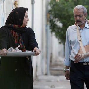 عبدالجبار اقباشاوی و شهلا پرویز مرادی در فیلم تاج محل