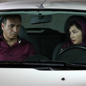 هانیه توسلی و حمید فرخ نژاد در فیلم مردن به وقت شهریور