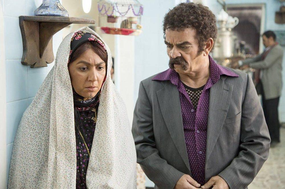 ستاره اسکندری و مهدی فخیم زاده در سریال نمایش خانگی «دندون طلا»