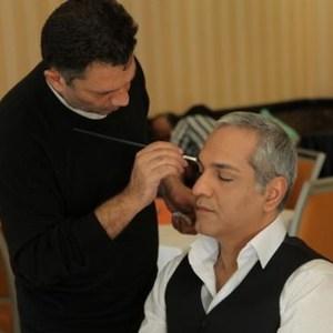 مهران مدیری در پشت صحنه سریال نمایش خانگی «عطسه»