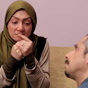 سحر ولدبیگی در نمایی از سریال نمایش خانگی «عطسه»