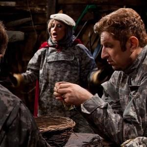 یوسف صیادی در نمایی از فیلم مبارزان کوچک