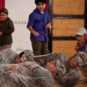 نمایی از فیلم مبارزان کوچک ساخته سید داود اطیابی