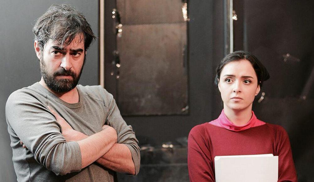 اولین عکس از ترانه علیدوستی و شهاب حسینی در جلسات تمرین فیلم «فروشنده» اصغر فرهادی