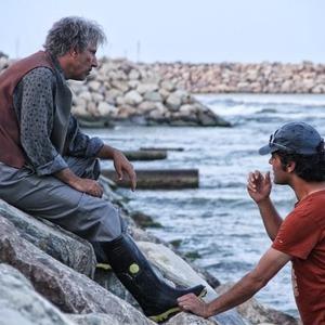 علیرضا امینی و سیامک صفری در پشت صحنه فیلم «دلتا ایکس»