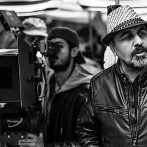 رضا عطاران در پشت صحنه فیلم «دراکولا»
