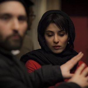 آناهیتا افشار در پشت صحنه فیلم «پل خواب»