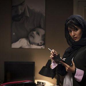آناهیتا افشار در نمایی از فیلم «پل خواب»