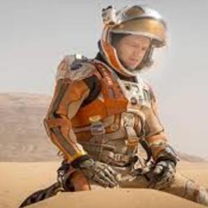 مت دیمون در نمایی از فیلم مریخی