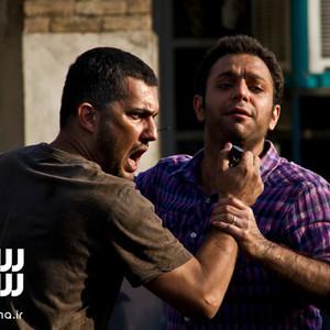 حامد بهداد و صابر ابر در فیلم «انتهای خیابان هشتم»