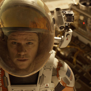 مت دیمون در فیلم «مریخی»(The Martian)