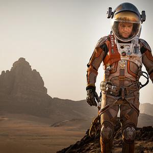 مت دیمون در نمایی از فیلم «مریخی»(The Martian)