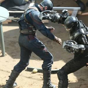 نمایی از پشت صحنه «کاپیتان آمریکا: جنگ داخلی»(Captain America: Civil War)