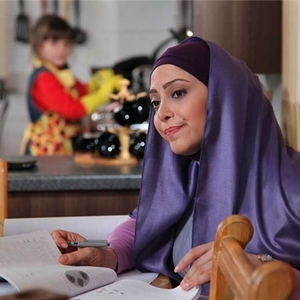 مریم سلطانی در نمایی از فیلم «بچگیتو فراموش نکن»