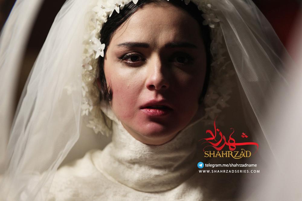 ترانه علیدوستی در نمایی از سریال نمایش خانگی «شهرزاد»