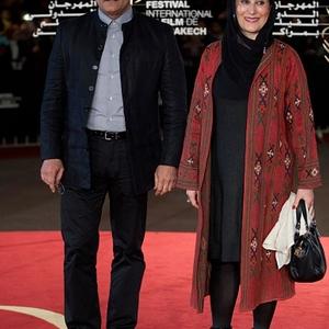 فاطمه معتمد آریا و الچین موسیاوغلو در چهاردهمین جشنواره فیلم مراکش