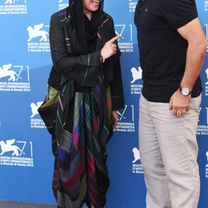فاطمه معتمد آریا و الچین موسیاوغلو، بازیگر و کارگردان فیلم «نبات»(nabat) در هفتاد و یکمین جشنواره فیلم ونیز