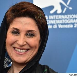 فاطمه معتمد آریا، بازیگر فیلم «نبات»(nabat) در جشنواره فیلم ونیز 71