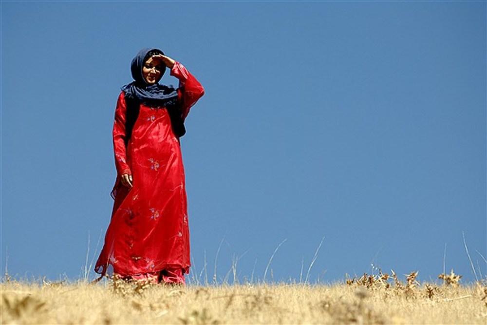 شيلان رحمانی در نمایی از فیلم «حکایت عاشقی»