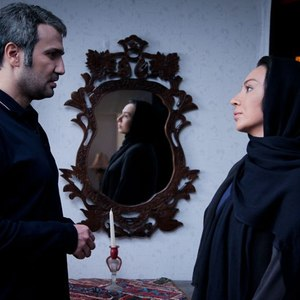 محمدرضا فروتن و الهه استیری در نمایی از فیلم «سایه روشن»