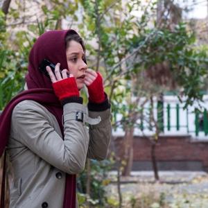 شادی کرم رودی در نمایی از فیلم «یک شهروند کاملا معمولی» ساخته مجید برزگر
