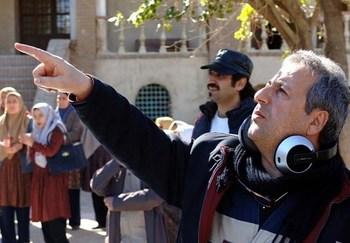 ابوالقاسم طالبی در پشت صحنه فیلم «یتیمخانه ایران»