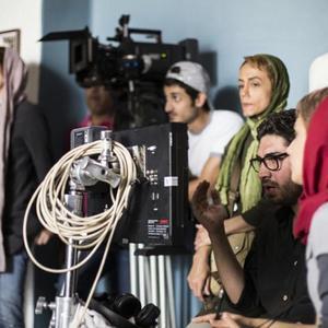 پشت صحنه فیلم «من»