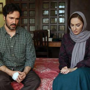محمدرضا فروتن و هانیه توسلی در نمایی از فیلم «نقطه کور»