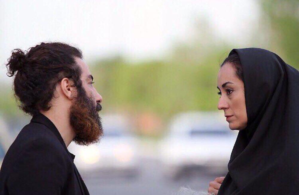مریم پالیزبان و نوید محمدزاده در نمایی از فیلم «لانتوری» ساخته رضا درمیشیان