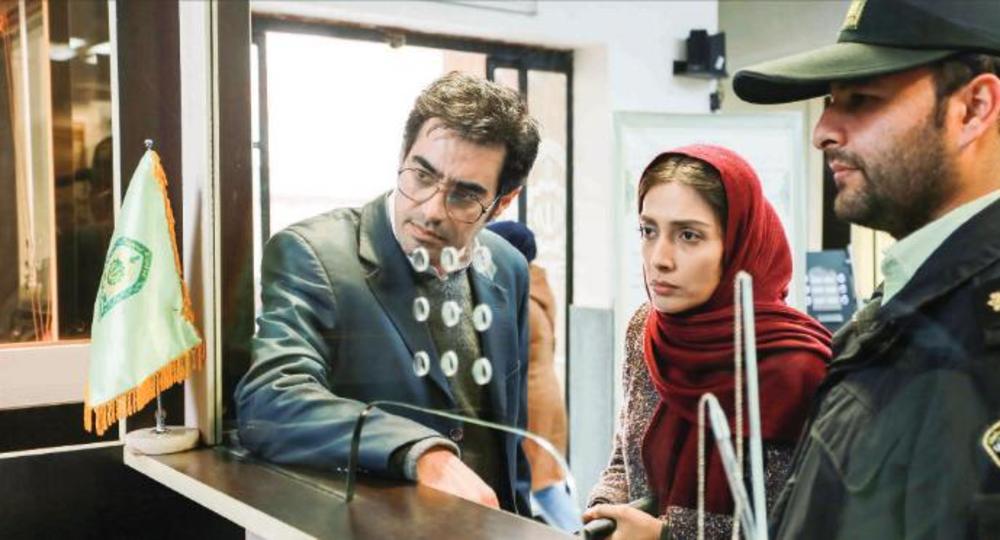 شهاب حسینی و لیلا زارع در نمایی از فیلم «امتحان نهایی»