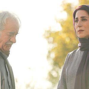فاطمه معتمدآریا و سعید پورصمیمی در نمایی از فیلم «در سکوت»