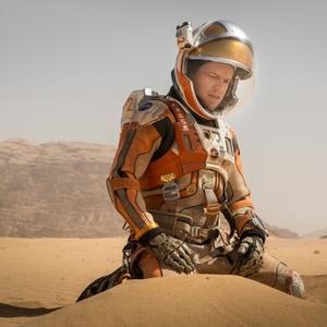 نمایی از فیلم «مریخی» با بازی مت دیمون