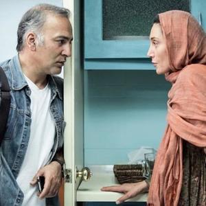 هدیه تهرانی و حمیدرضا آذرنگ در فیلم عادت نمی كنيم
