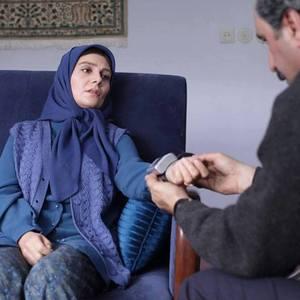هنگامه قاضیانی در فیلم «زندگی مشترک آقای محمودی و بانو»