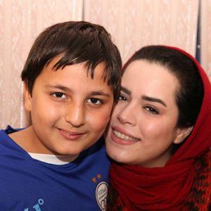 ملیکا شریفی نیا و محمدرضا شیرخانلو، بازیگران فیلم «عشق نیکان»