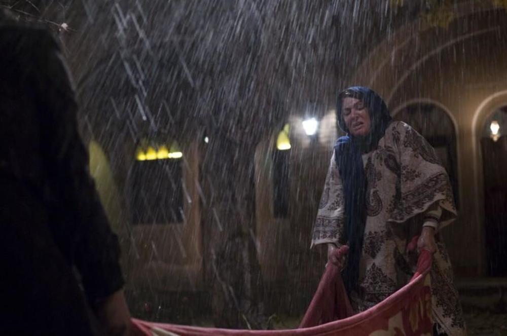 نمایی از فیلم «مالیخولیا» ساخته مرتضی آتش زمزم با بازی لاله اسکندری