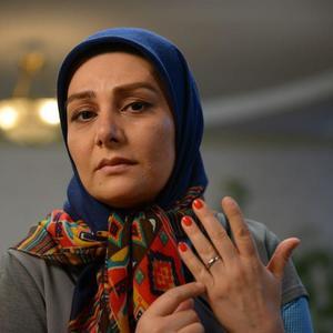 هنگامه قاضیانی در نمایی از فیلم «دلبری» ساخته سید جلال اشکذری