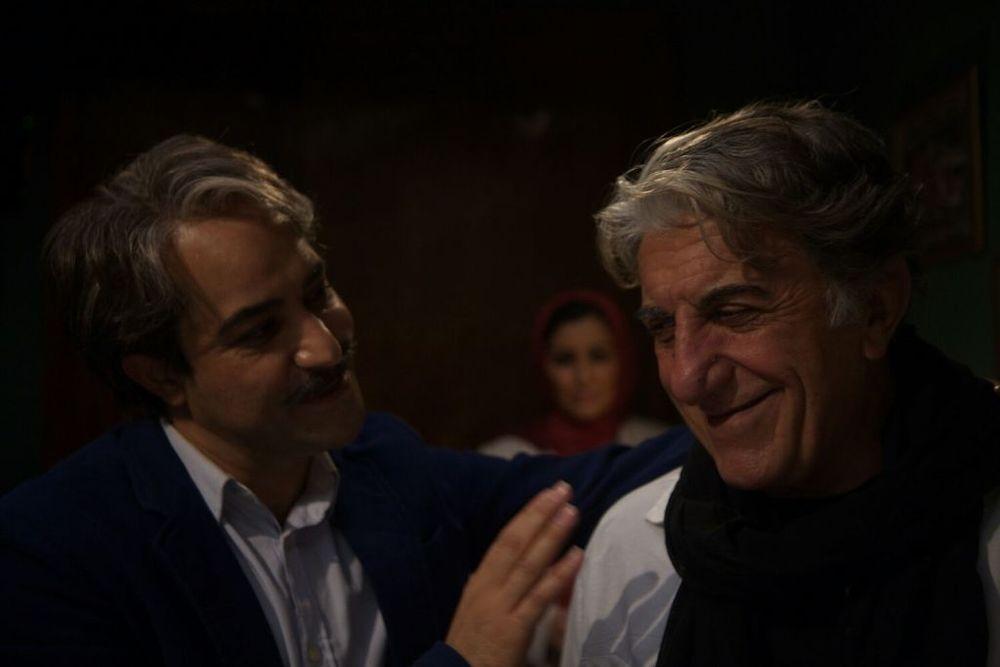 رضا کیانیان و افشین هاشمی در نمایی از فیلم «وقتی برگشتم...»