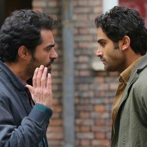 آرمان درویش و شهاب حسینی در نمایی از فیلم «چهارشنبه»