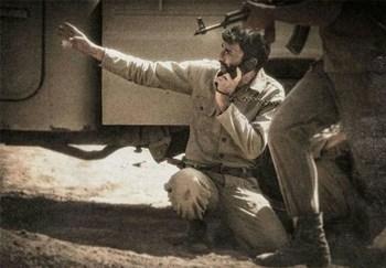 هادی حجازی فر در نقش احمد متوسلیان در فیلم «ایستاده در غبار» اولین ساخته محمدحسین مهدویان