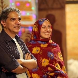 نمایی از فیلم «جزیره رنگین» با بازی  طیبه دهقان منشادی و مهدي احمدی
