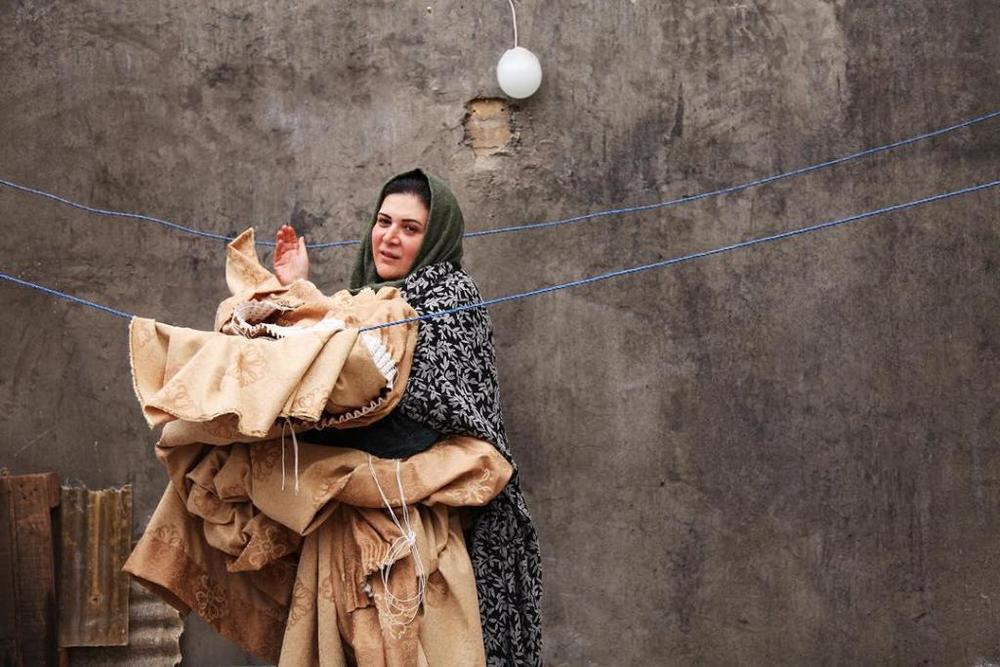 ریما رامین فر در نمایی از فیلم «ابد و یک روز» ساخته سعید روستایی