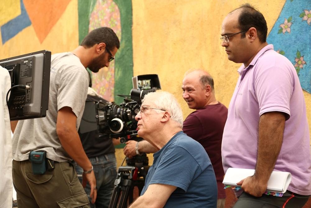 پشت صحنه فیلم «جزیره رنگین»