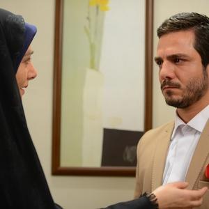 نمایی از فیلم «دلبری» با بازی عباس غزالی
