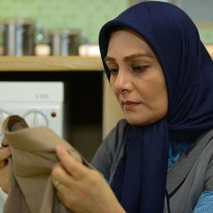هنگامه قاضیانی در نمایی از فیلم سینمایی «دلبری» ساخته سید جلال اشکذری