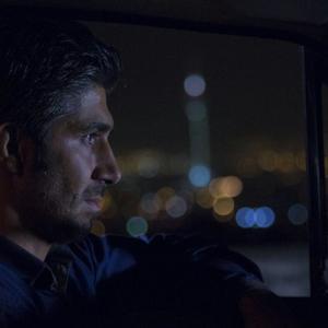 مهدی نصرتی در نمایی از فیلم «دربست»