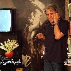 رضا کیانیان در نمایی از فیلم «خبر خاصی نیست»
