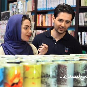 امیرحسین آرمان و بیتا سحرخیز در نمایی از فیلم «خبر خاصی نیست»