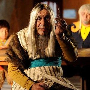 محمدرضا فیض نوروزی در نمایی از فیلم کودکانه «تتل و راز صندوقچه» ساخته وحید گلستان